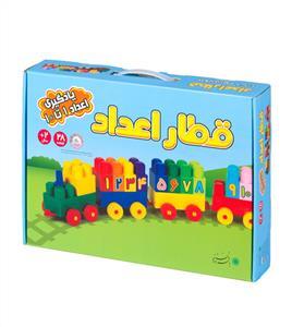 آجره قطار اعداد 28 قطعه (با فرزندان)(ک12)