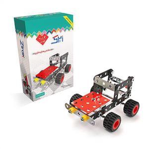 سازه فلزی دو طرح ماشین بیابان و موتور سیکلت ساحل (ک24)