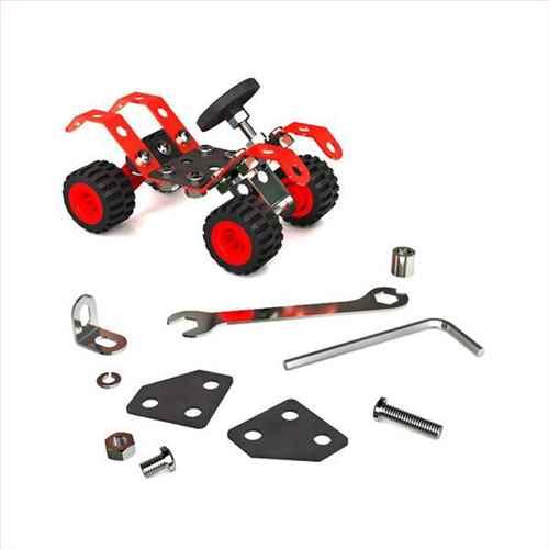 سازه فلزی دو طرح ماشین مسابقه و موتور بیابان (ک24)