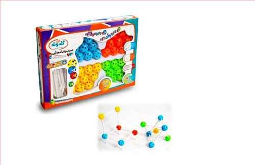 مدل مولکولی (گلدونه)