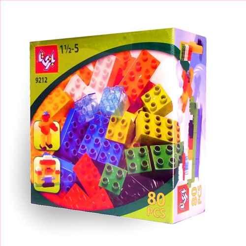 لگو 80 قطعه (بازی تا)(ک12)