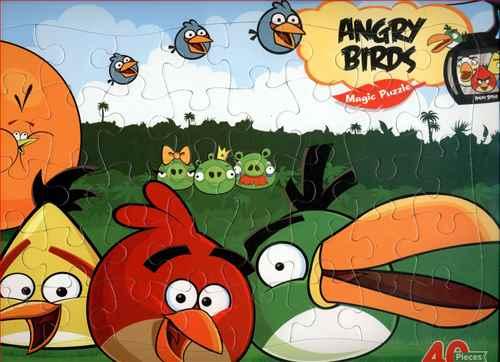 پازل پرندگان خشمگین