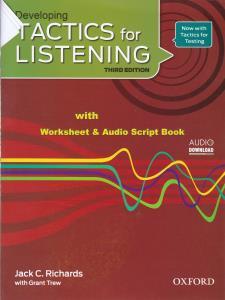 Developin Tactics for Listening (با CD)(رحلی)