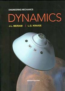 engineering mechanics dynamics (meriam) edition 7(صفار) افست